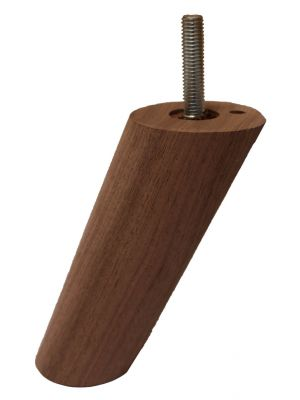 Ragna Solid Walnut Angled Furniture Legs