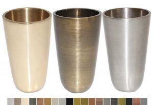 Astoria Brass Leg Cups